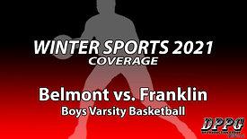 BOYS BASKETBALL: Belmont vs. Franklin (2/15/2021)