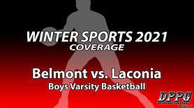 BOYS BASKETBALL: Belmont vs. Laconia (1/20/2021)