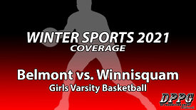GIRLS BASKETBALL: Belmont vs. Winnisquam (2/2/2021)
