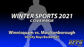 BOYS BASKETBALL: Winnisquam vs. Moultonborough (1/29/2021)