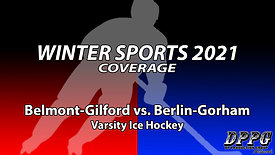 ICE HOCKEY: Belmont-Gilford vs. Berlin-Gorham (2/3/2021)