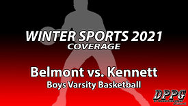 BOYS BASKETBALL: Belmont vs. Kennett (1/25/2021)