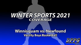 BOYS BASKETBALL: Winnisquam vs. Newfound (2/19/2021)