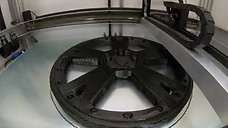 3D printing of a Lamborghini wheel - Builder Extreme 1500