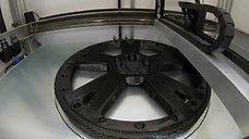 3D printing of a Lamborghini wheel - Builder Extreme 1500