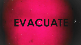 EVACUATE (DEMO)  - THE SHOP WINDOW Official music video - COVID 19 LOCKDOWN 2020