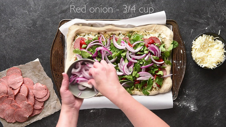 Capital Fine Meats Salami Pesto Roll