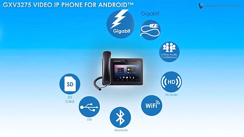 Grandstream GXV3275 IP Video Phone for Android