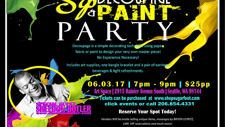 The Ultimate Paint Night