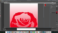 Quick Stencil using Photocopy Filter in Photoshop