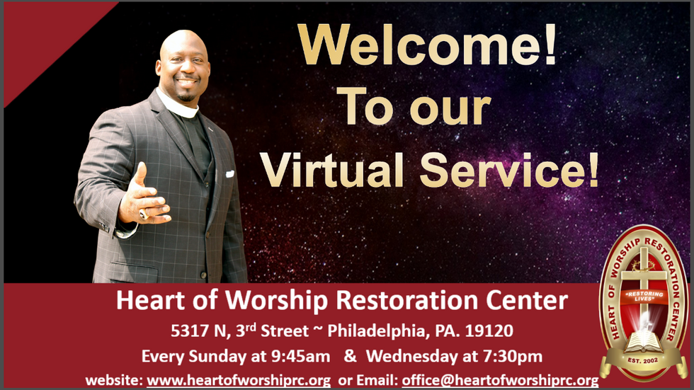 Heart of Worship - Virtual Service