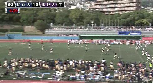関西大学 vs 龍谷大学ハイライト