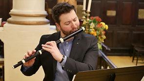 Telemann - Trio for Flute, Gamba and Continuo in a minor: Adagio