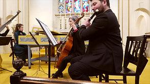 Telemann - Trio for Flute, Gamba and Continuo in a minor: Allegro