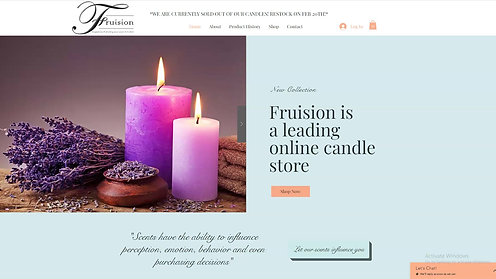 Fruision Candle