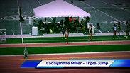 Ladaijahnae Miller Triple Jump @ 2017 AAU Jr Olympics