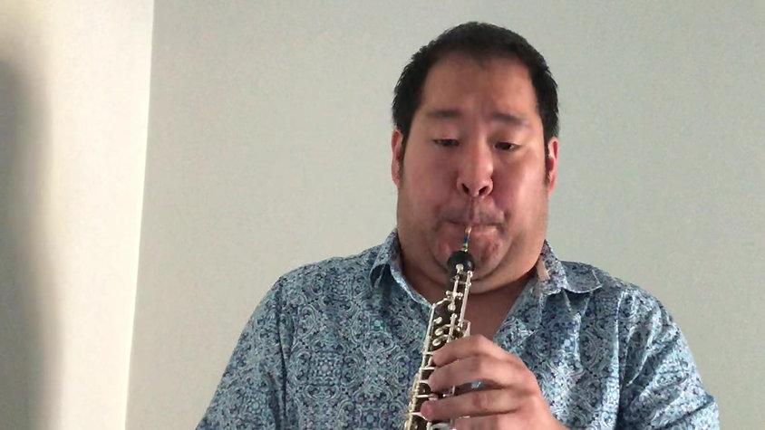 Heinz Holliger: Sonate for Oboe - I. Präludium