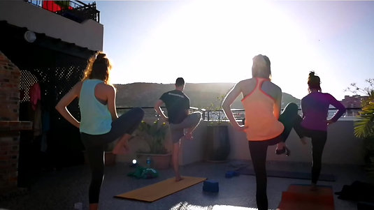 Sunrise Yoga in Morocco