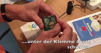 Batteriewechsel Sender