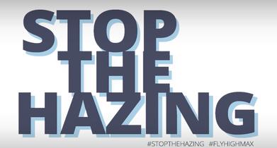 #StoptheHazing