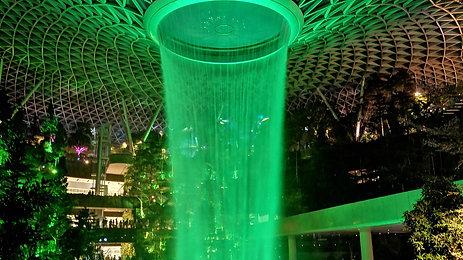 HSBC Rain Vortex - Jewel Changi Airport, SINGAPORE