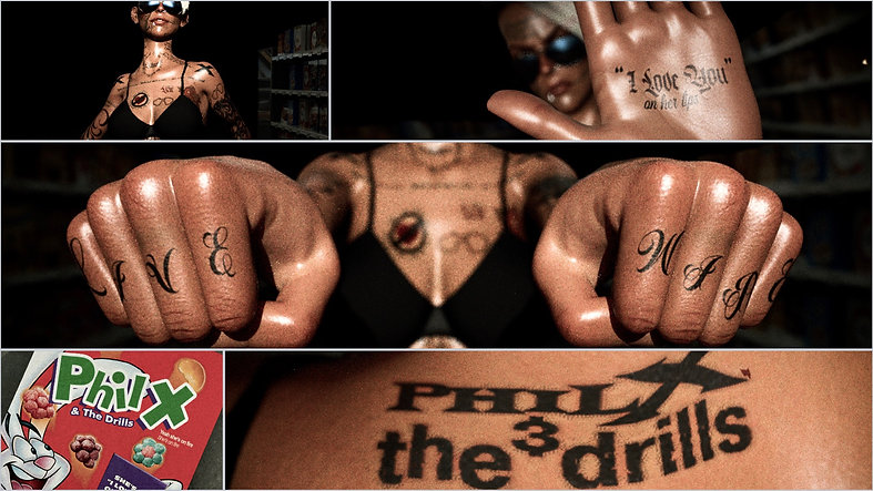 """Phil X & The Drills """"I Love You on Her Lips"""""""