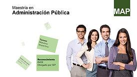 Maestria en Administracion Publica
