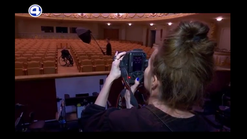 Сюжет 4 канала о съемке в Оперном театре