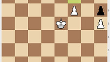 King Pawn Ending - Triangulation & Zugzwang