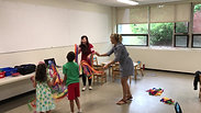 Children are learning Chinese Dance and learning directional words in Mandarin Chinese