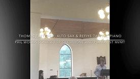 Phil Woods Sonata for Alto Sax & Piano - 1st Movement (extract)