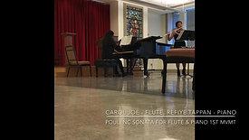 Poulenc Flute Sonata - 1st Movement