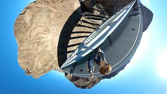 360 Tiny Planet, Hoover Dam
