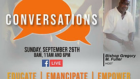 Conversations 09/26   Guest Rev. Rodney Way
