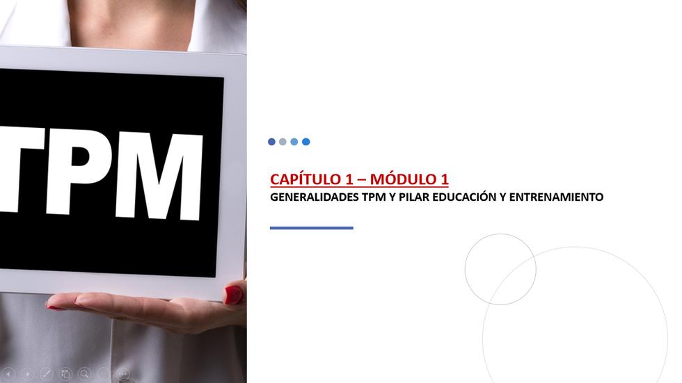 TPM CAPITULO 1 – modulo 1 parte B
