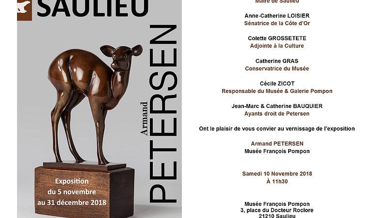 Exposition Armand Petersen au musée Pompon