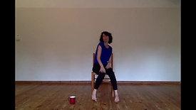 in the studio alone