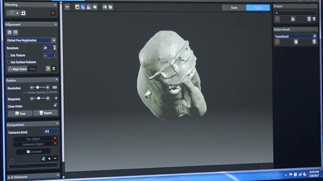 Middlebury Animation Studio  HP 3D Scan Case Study  HP