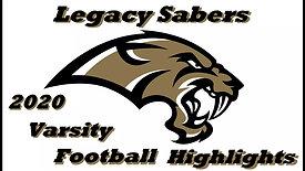 2020 Varsity Football Highlights