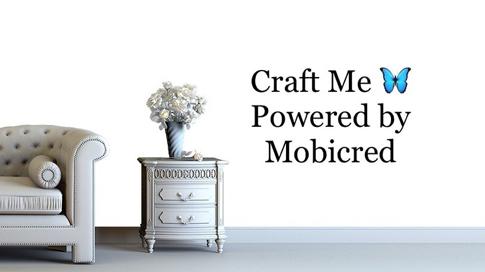 Craft Me powered by Mobicred