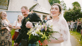 Remote Scottish Wedding at The Stables in Cromarty