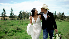 Nebraska ranching country meets Ponoka ranching country - The wedding film of Sadie & Drew
