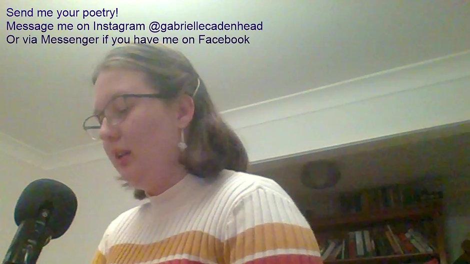 Gabrielle Cadenhead - Poetstream