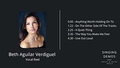 Beth Aguilar Verdiguel - Vocal Reel