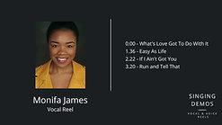 Monifa James - Vocal Reel