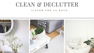 CLEAN & DECLUTTER ENERGY CLEARING.