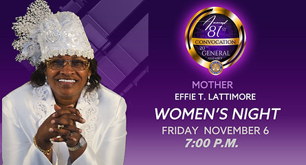 COCWIH 81st Holy Convocation