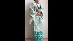 藤井絞ファッションショー衣装