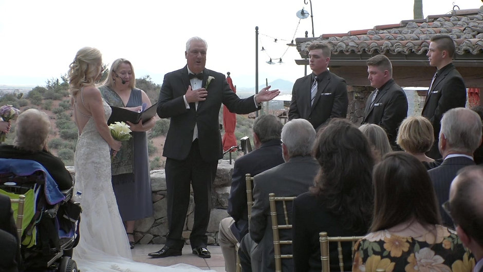 Shelly & Blaine Wedding Ceremony
