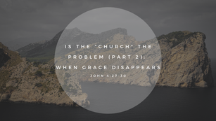 Sunday Talk! - Is the Church the Problem (Part 2) (11/15/2020)